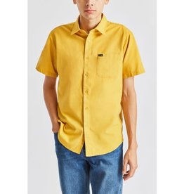 Brixton Brixton - Chemise homme charter oxford s/s woven sunset yellow