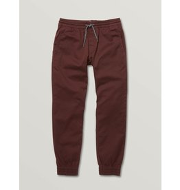 volcom Volcom - Pantalon junior frickin slim jogger plum