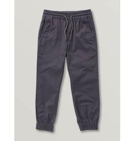 volcom Volcom - Pantalon junior frickin slim jogger charcoal