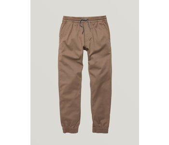 Volcom - Pantalon junior frickin slim jogger mushroom