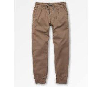 Volcom - Pantalon junior frickin slim jogger khaki