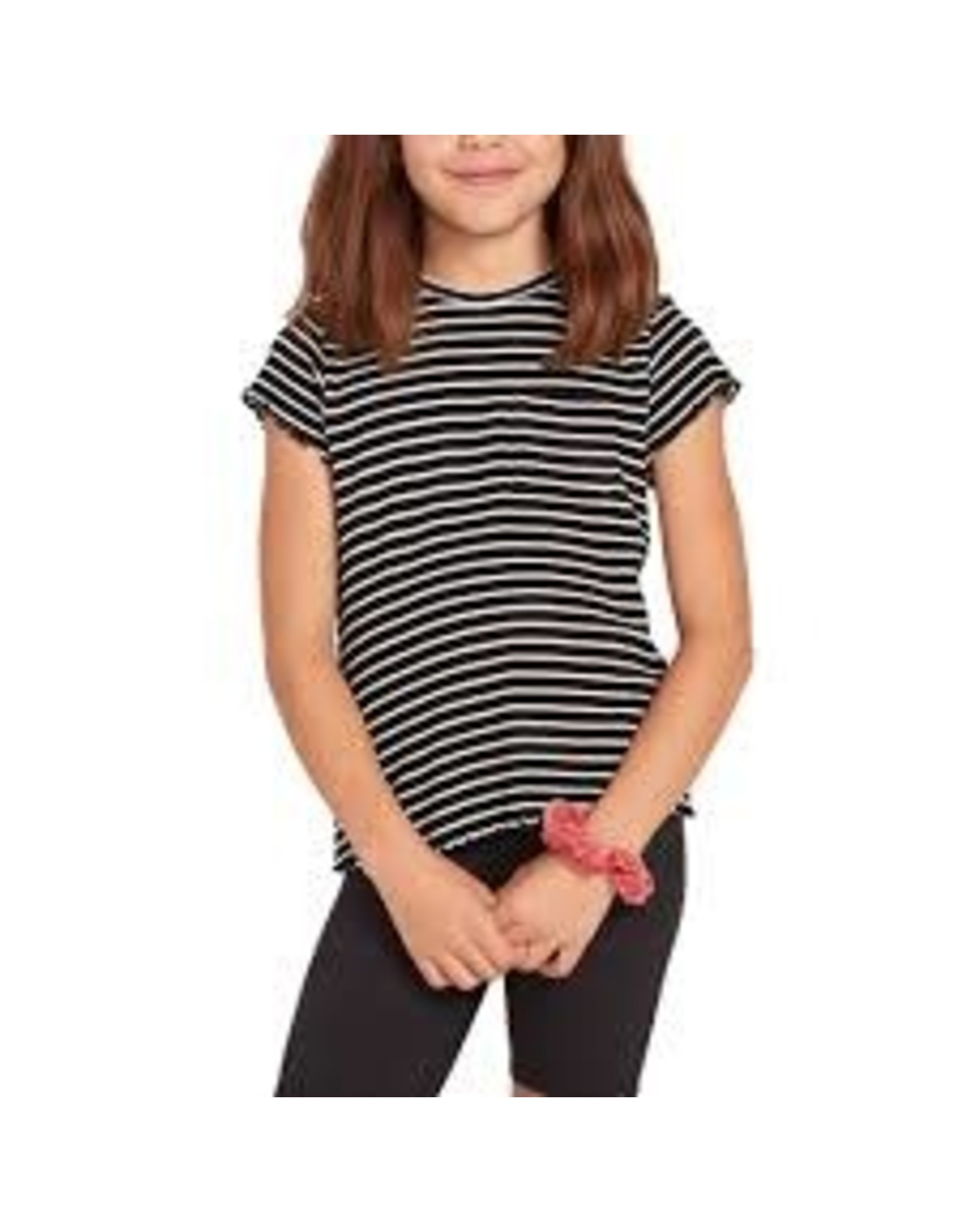 volcom Volcom - T-shirt fille dayze day black/white