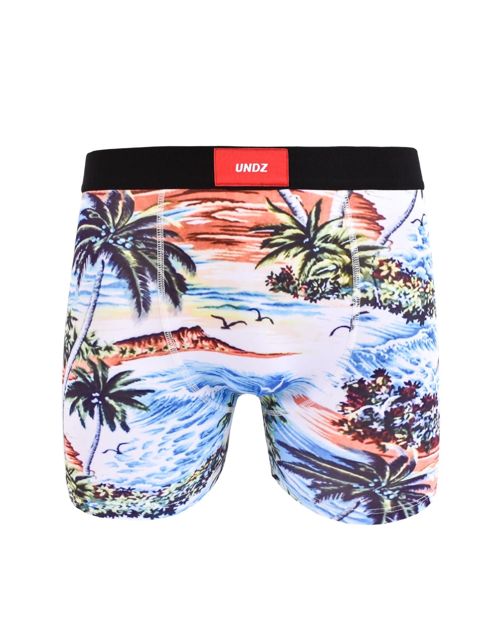 undz Undz - Boxer homme classic retro hawaiian