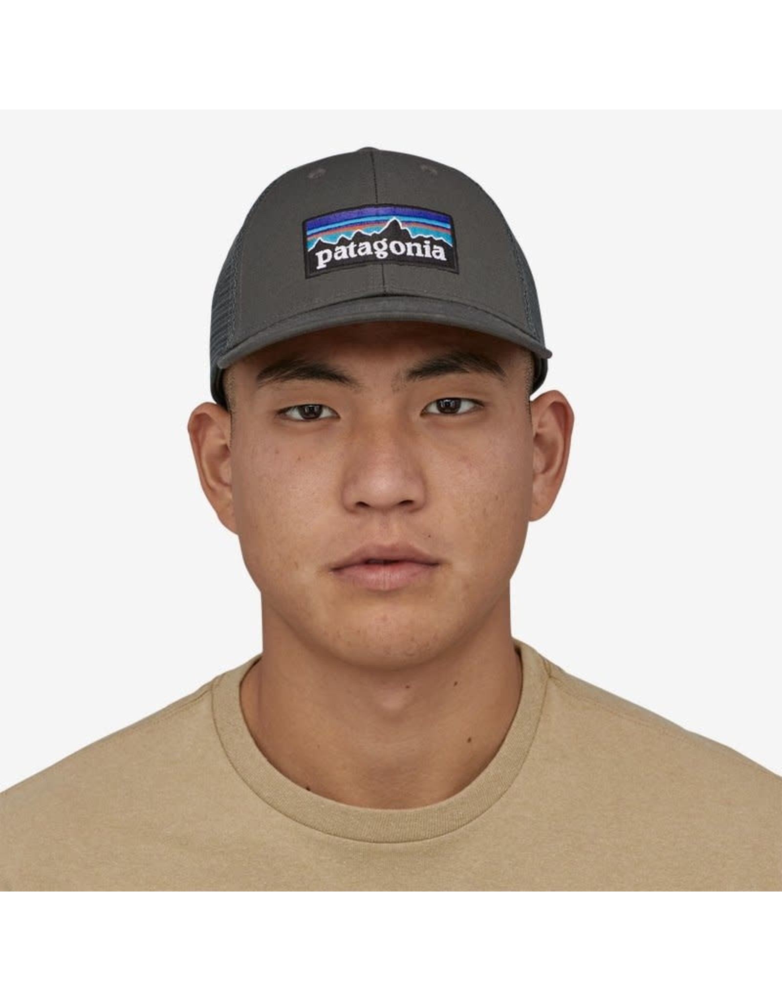 Patagonia Patagonia - Casquette homme p-6 logo lopro forge grey