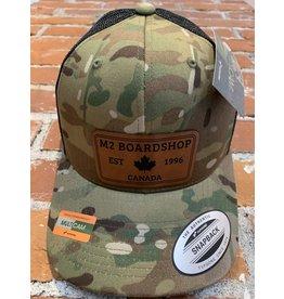 m2 boardshop M2 Boardshop - Casquette trucker snapback camo
