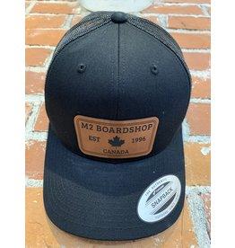 m2 boardshop M2 Boardshop - Casquette homme trucker snapback black