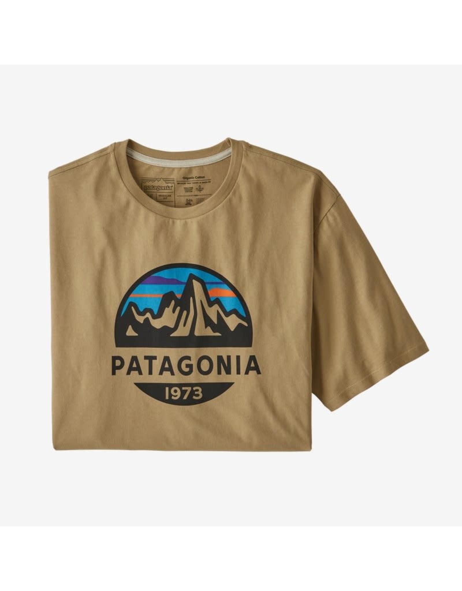 Patagonia Patagonia - T-shirt homme fitz roy scope organic classic tan