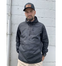 m2 boardshop M2 - Anorak water resistant windbreaker M2 black camo