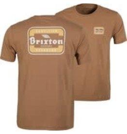 Brixton Brixton - T-shirt homme quill print coconut
