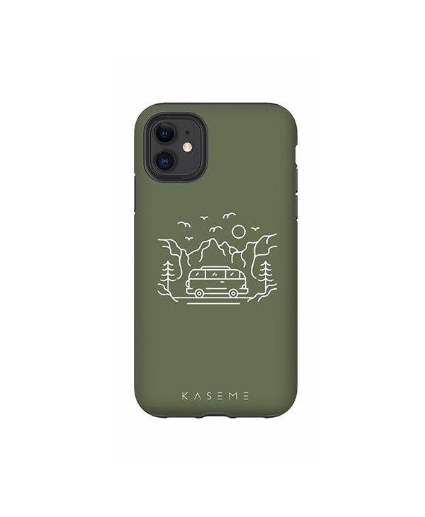Kaseme - Étui cellulaire IPhone camp life