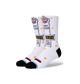 stance Stance - Bas homme goldslick white