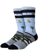 stance Stance - Bas homme aloha monkey light blue