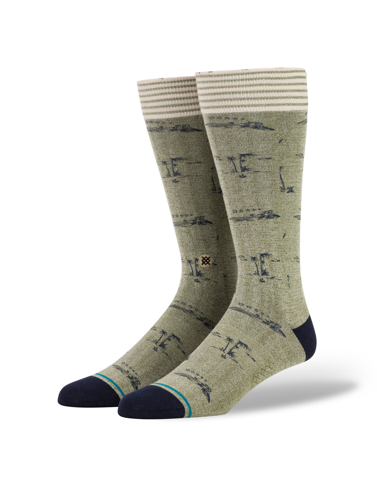 stance Stance - Bas homme isle tropics green