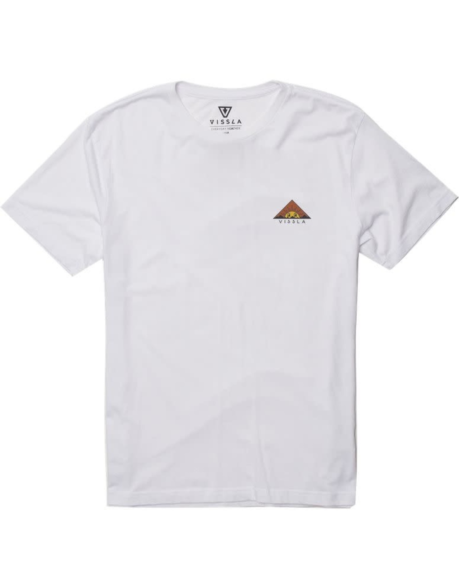 Vissla Vissla - T-shirt homme warning white