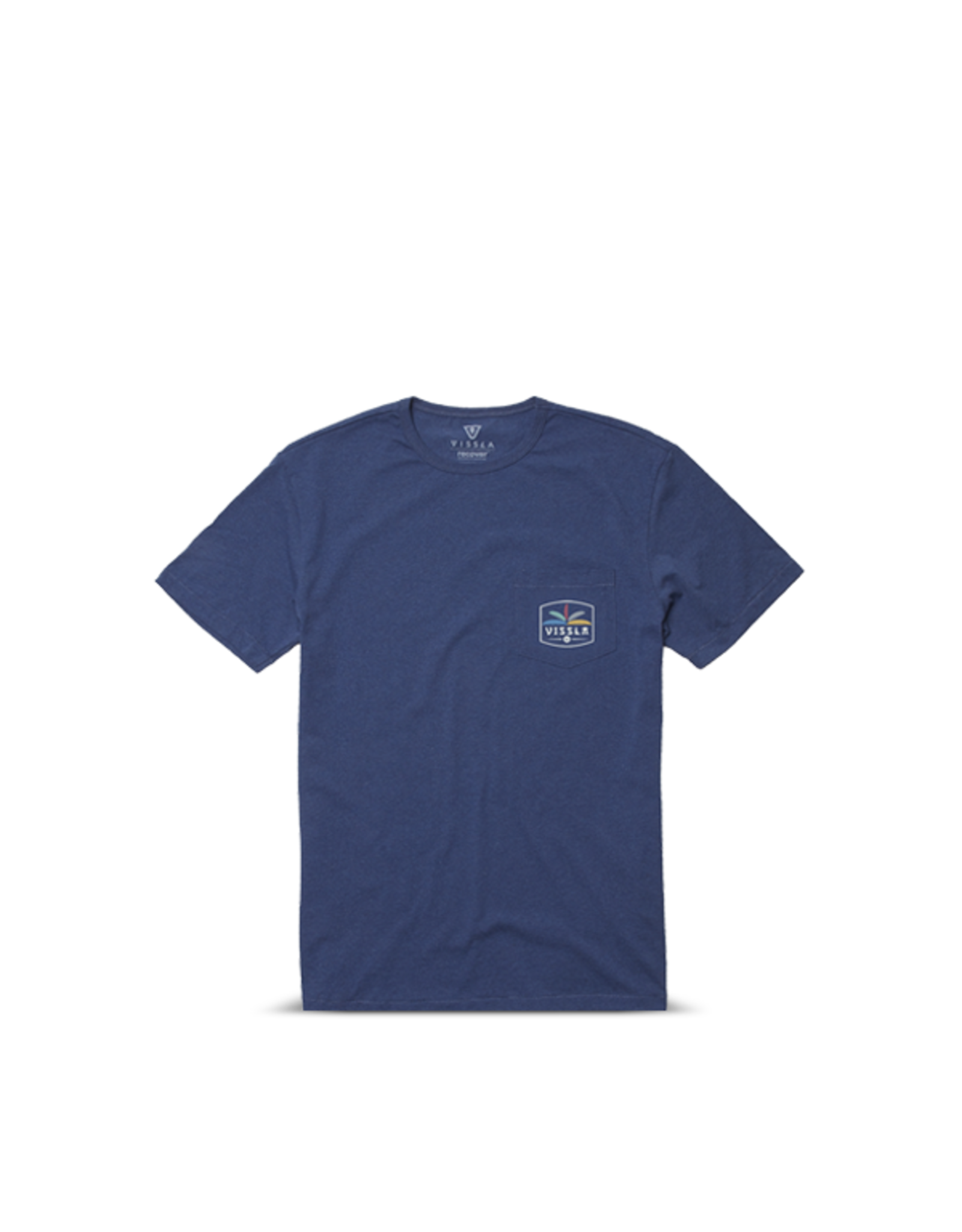 Vissla Vissla - T-shirt homme cosmic garden upcycled dark denim