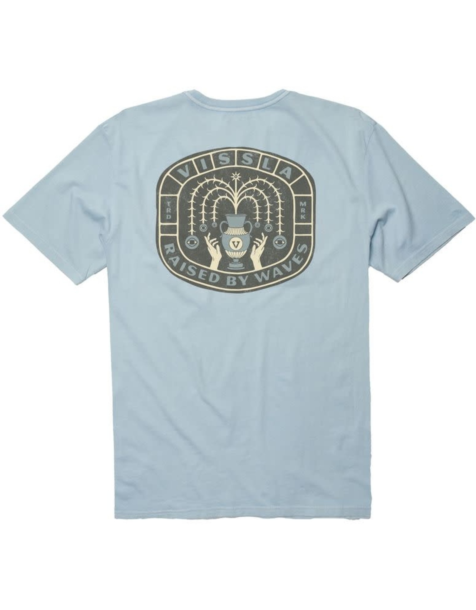 Vissla Vissla - T-shirt homme summon the seven seas ice blue