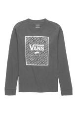 vans Vans - Chandail long junior print box black/black dimension