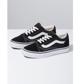 vans Vans - Soulier junior old skool black/true white