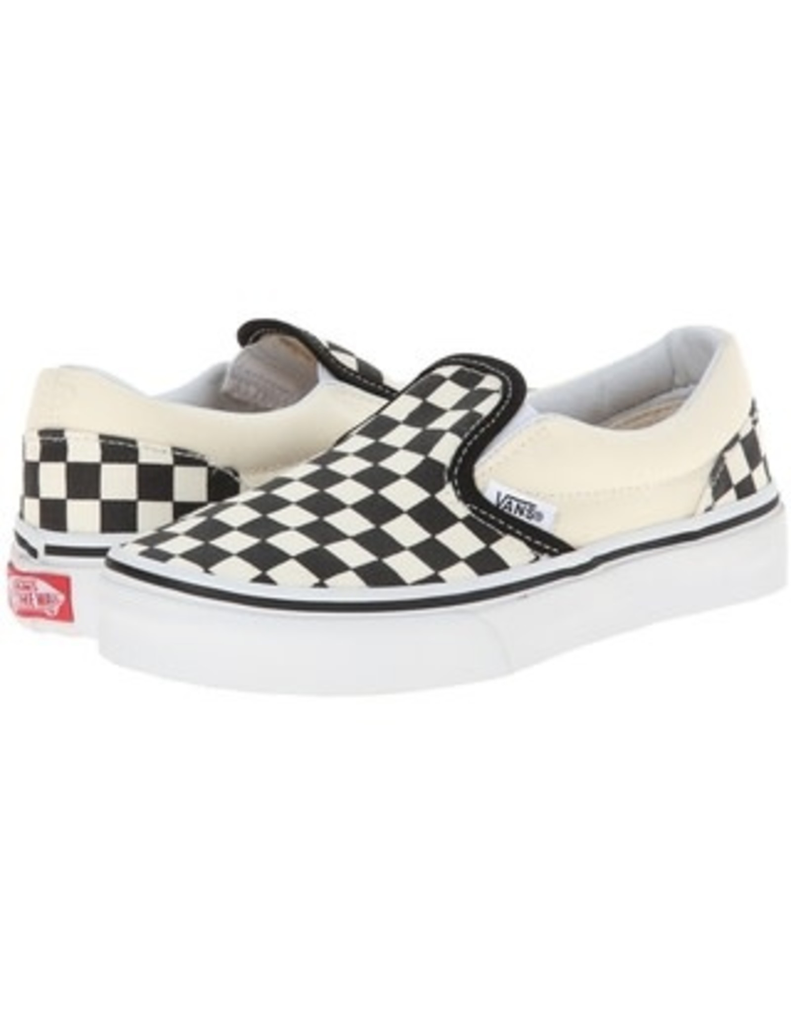 vans Vans - Soulier junior classic slip-on checkerboard black/white