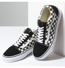 vans Vans - Soulier junior old skool primary check black/white