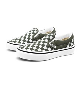 vans Vans - Soulier junior classic slip-on checkboard grape