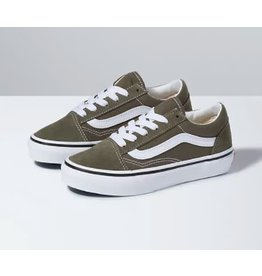 vans Vans - Soulier junior old skool grape leaf/true white