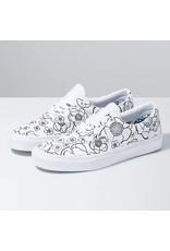 vans Vans - Soulier femme era u-color floral/true white