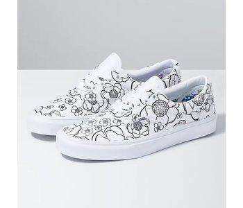 Vans - Soulier femme era u-color floral/true white