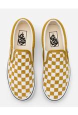 vans Vans - Soulier femme slip-on checkboard olive/true white