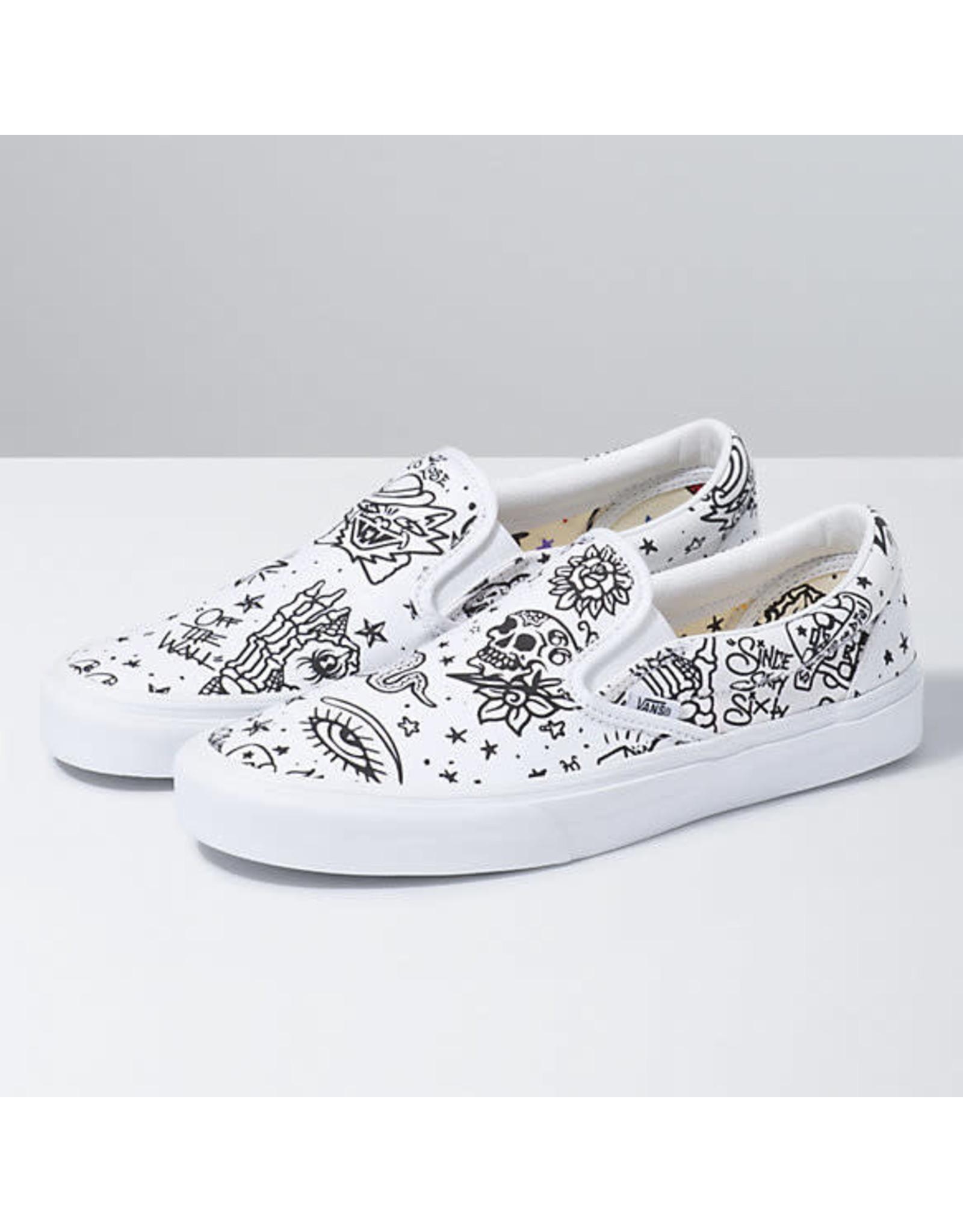 vans Vans - Soulier femme classic slip-on u-color floral/true white