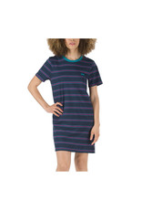 vans Vans - Robe femme kaye stripe dress blues