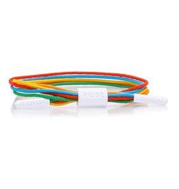rastaclat Rastaclat - Bracelet equality W/Card rainbow