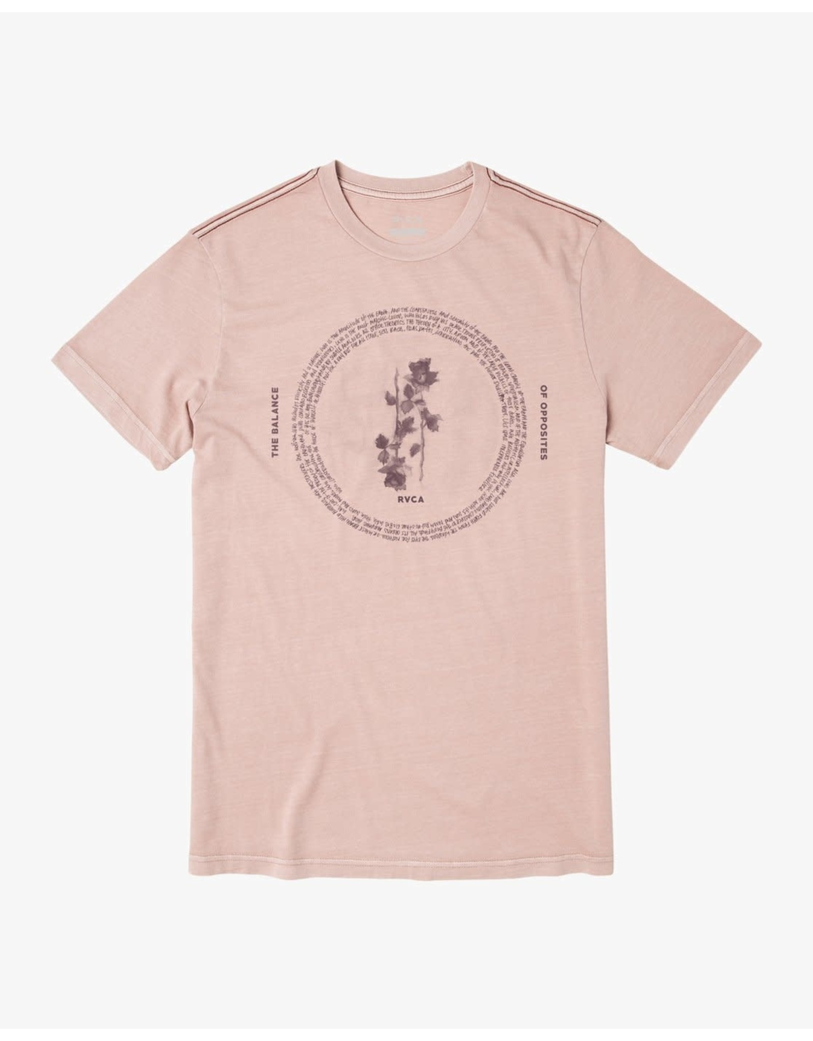 rvca Rvca - T-shirt homme cycled pale mauve