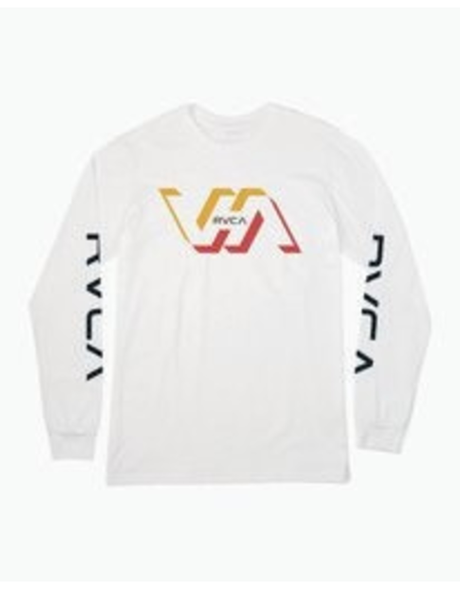 rvca Rvca - Chandail long homme facets white