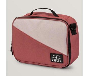 Volcom - Boîte à lunch brown dust red