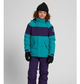 burton Burton - Manteau junior symbole dynasty green/parachute purple