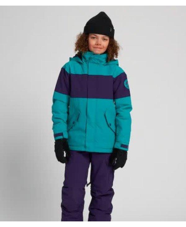 Burton - Manteau junior symbole dynasty green/parachute purple