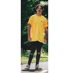 eazy collective Easy Collective - T-shirt homme holiday motel jaune