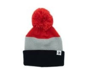 Headster - Tuque  junior tricolor red