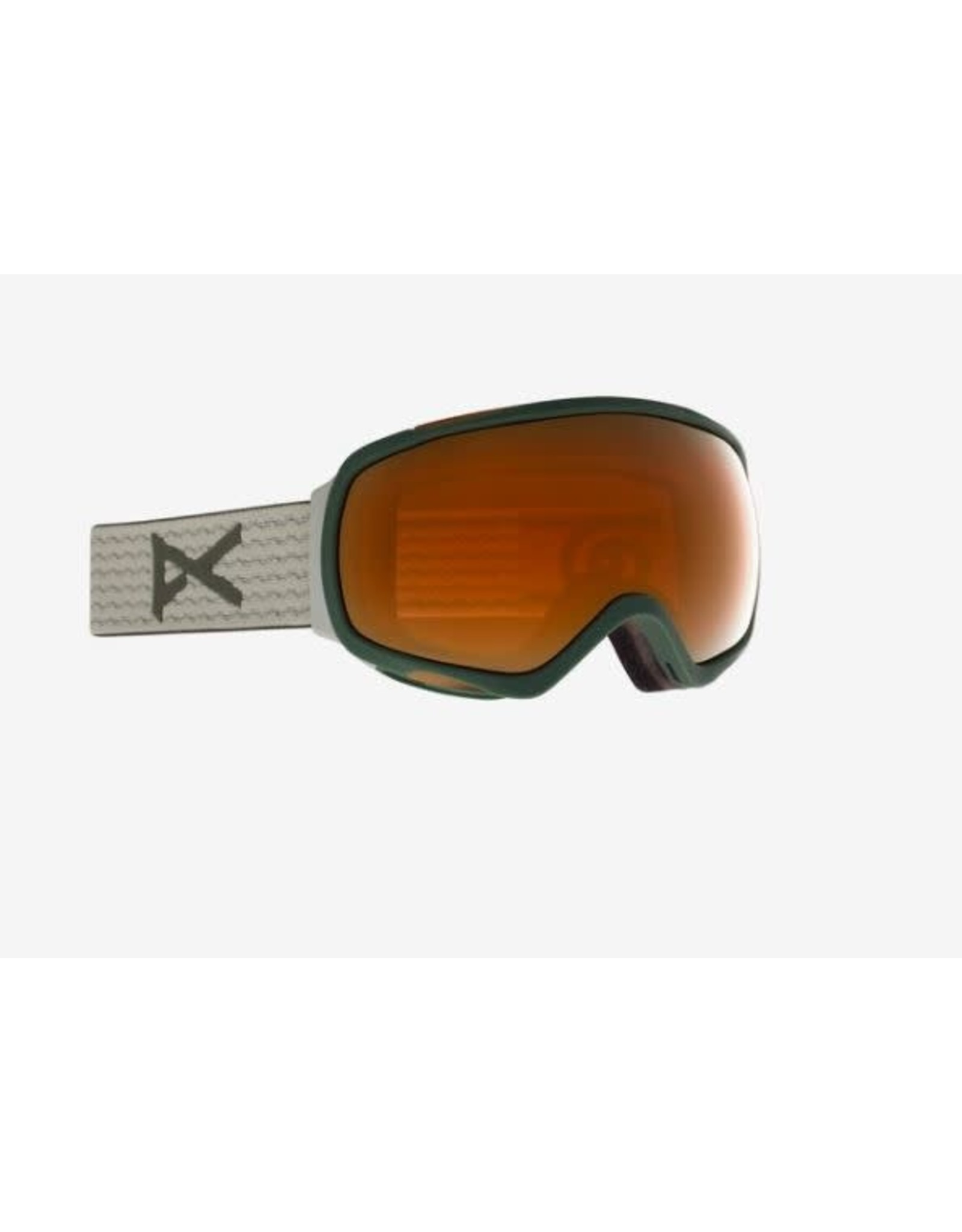 Anon Anon - Lunette snowboard femme tempest sage/sunny bronze + spare lens