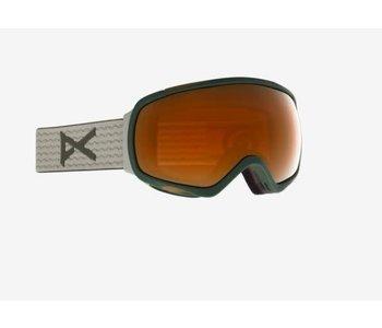 Anon - Lunette snowboard femme tempest sage/sunny bronze + spare lens