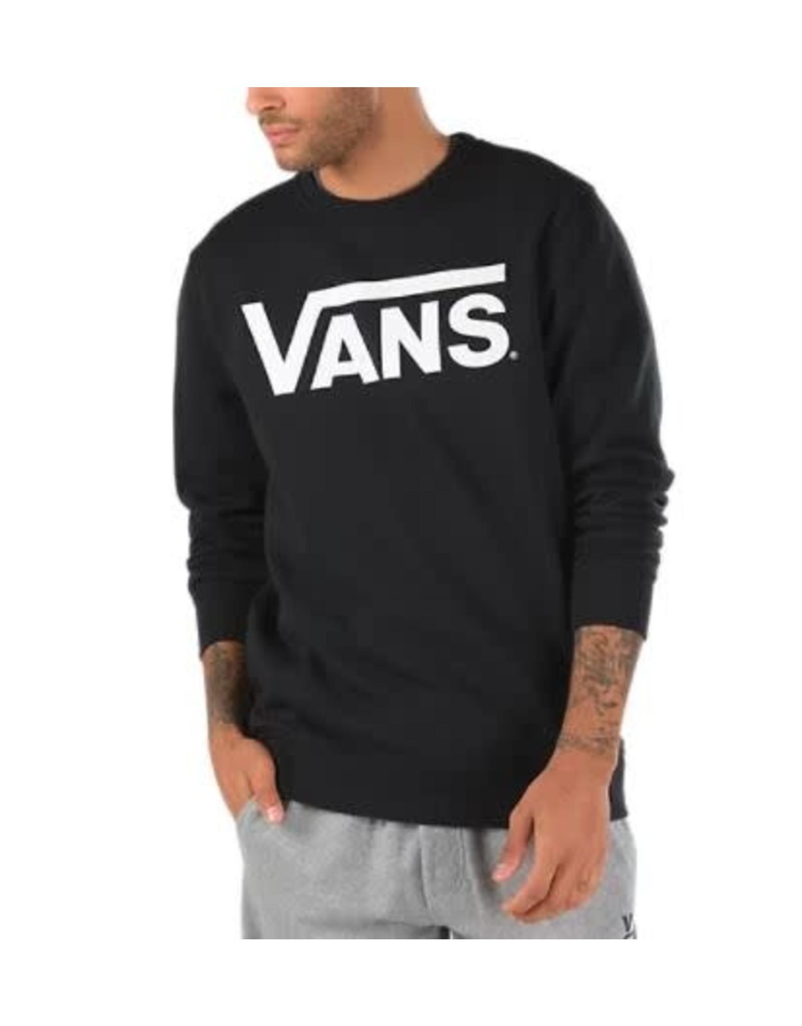 vans Vans - Ouaté homme classic crew black/white