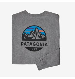 Patagonia Patagonia - Chandail long homme fitz roy scope responsibili-tee gravel heather