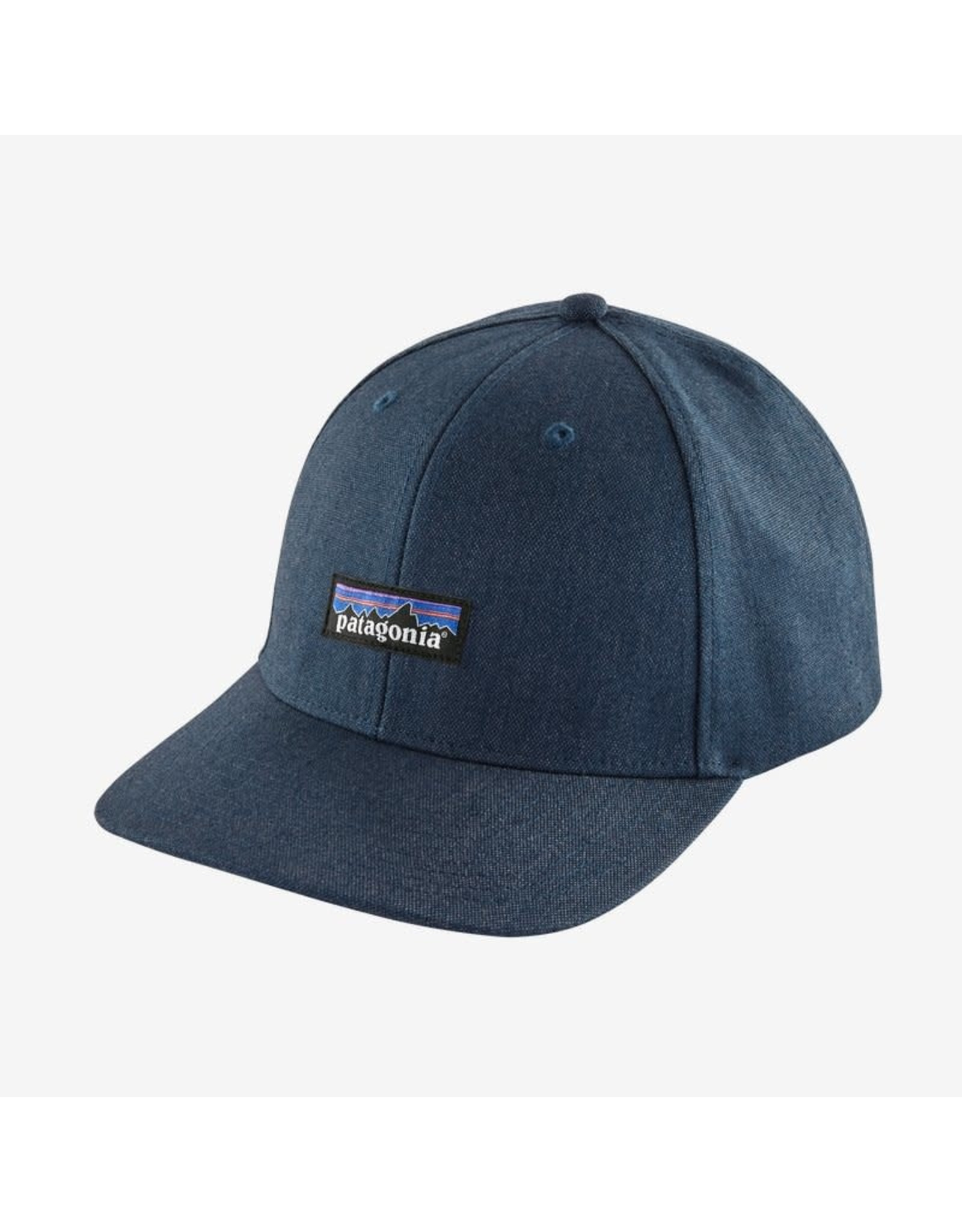 Patagonia Patagonia - Casquette homme tin shed p-6 logo stone blue