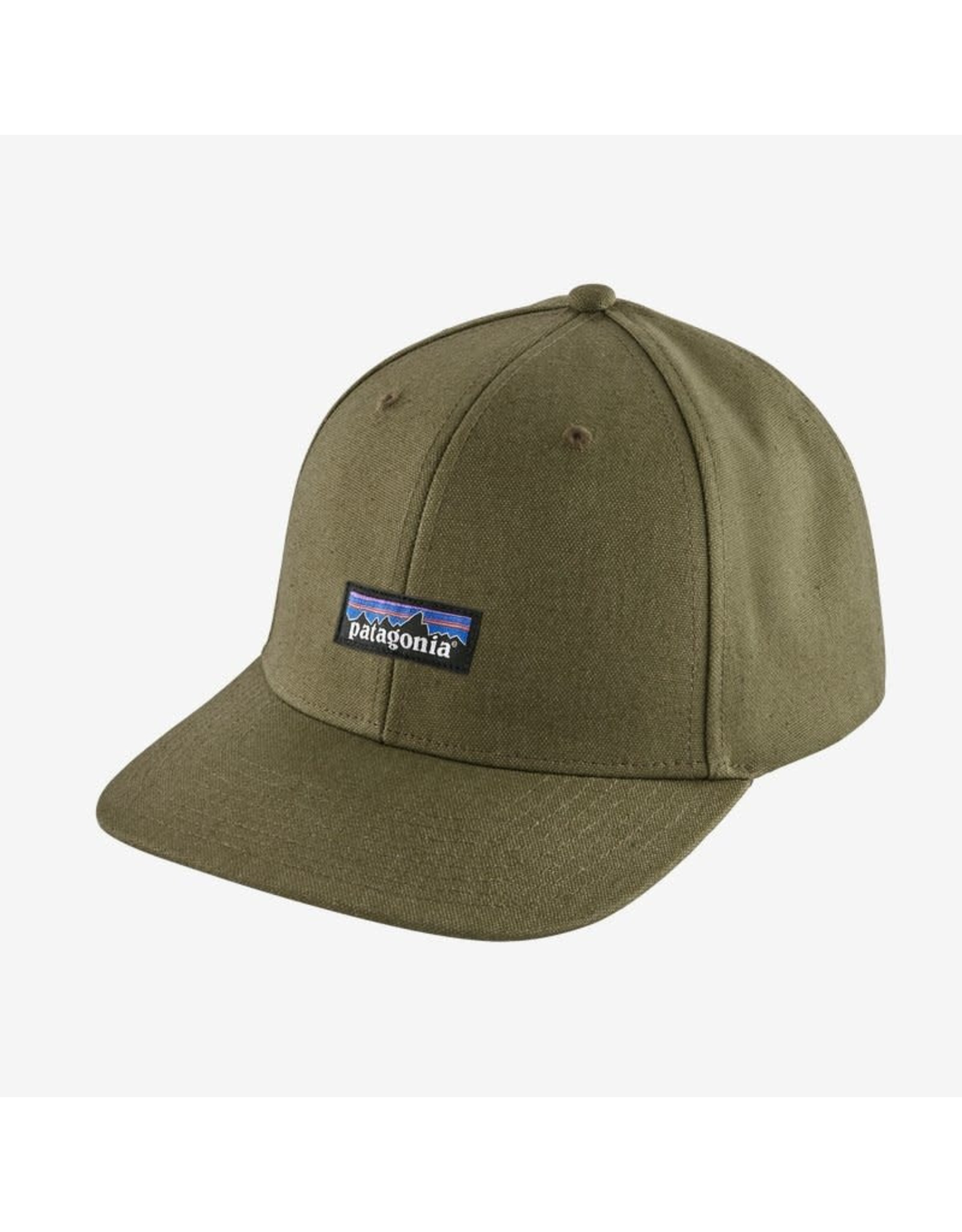Patagonia Patagonia - Casquette homme tin shed p-6 logo fatigue green