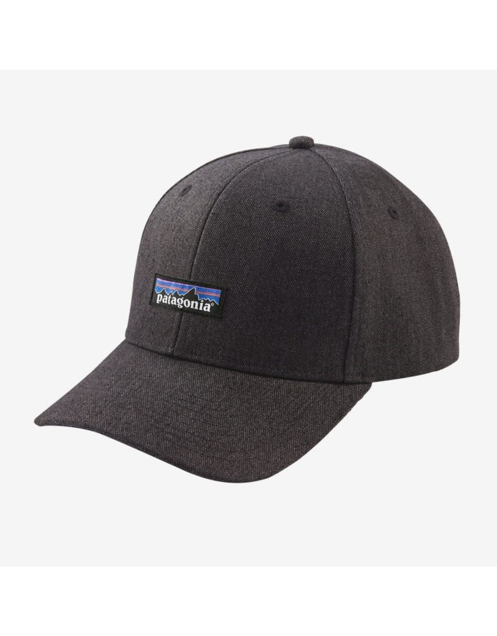 Patagonia Patagonia - Casquette homme tin shed p-6 logo ink black