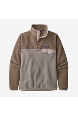 Patagonia Patagonia - Polar femme lightweight synchilla snap-t furry taupe