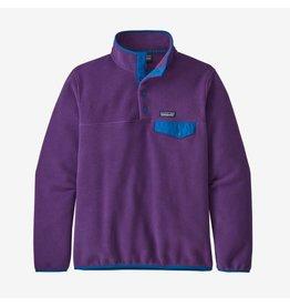 Patagonia Patagonia - Polar femme lightweight synchilla snap-t purple