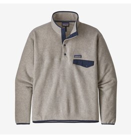 Patagonia Patagonia - Polar homme lightweight synchilla snap-t oatmeal heather