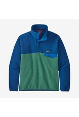 Patagonia Patagonia - Polar homme lightweight synchilla snap-t eelgrass green